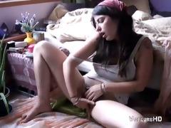 sister masturbates in her room