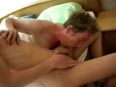 horny old granny fucks young cock and receives