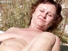 horny milf gets her hairy muf fucked part4