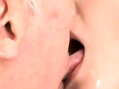 black haired oriental milf makes out part2