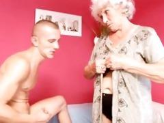 granny betty bonks youthful cock