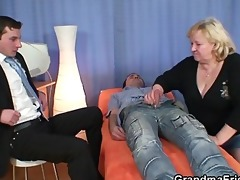 giant titted grandma swallows jocks