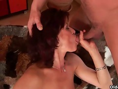 mamas cum-hole feels better than your hand
